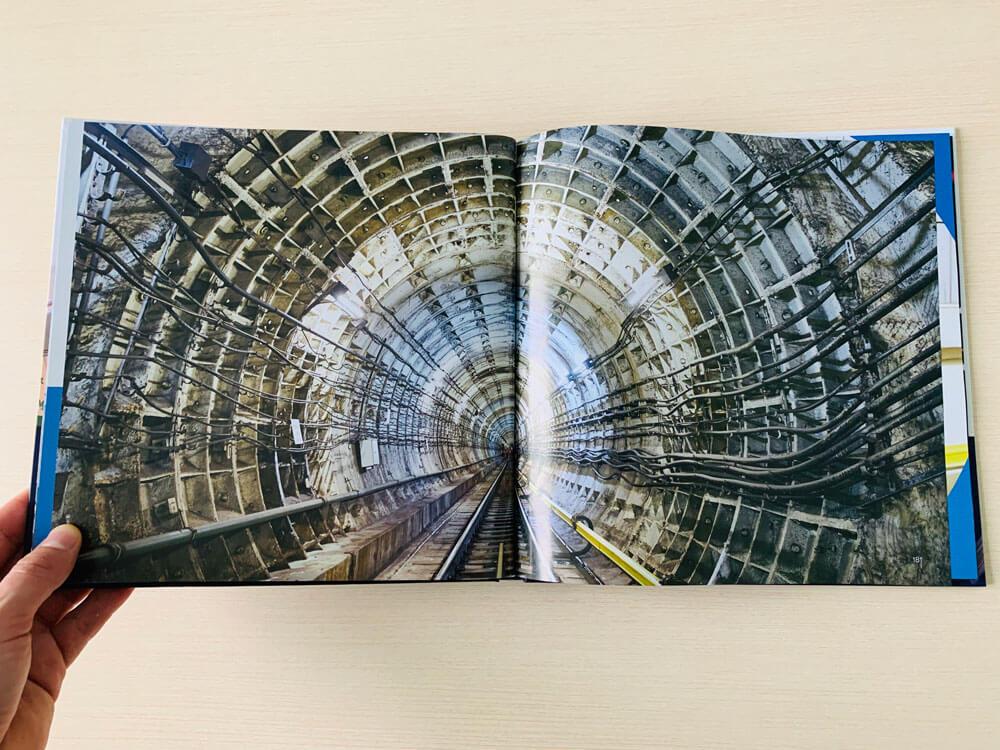 Коропоративная книга от издательства Сегмент. Фото