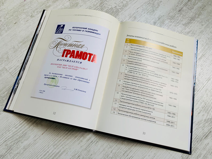 Юбилейная книга Белгазналадка. Издательство Сегмент фото 12