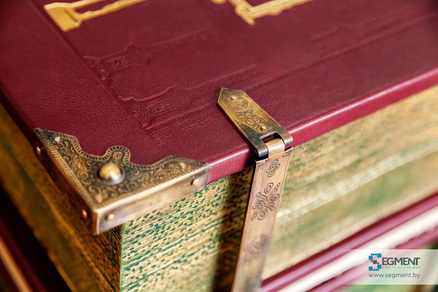 Берестейская Библия от издательства Сегмент. Кожаный переплет. Фото3