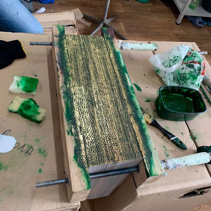 Декорирование книжного обреза. Издательский дом Сегмент. Фото2