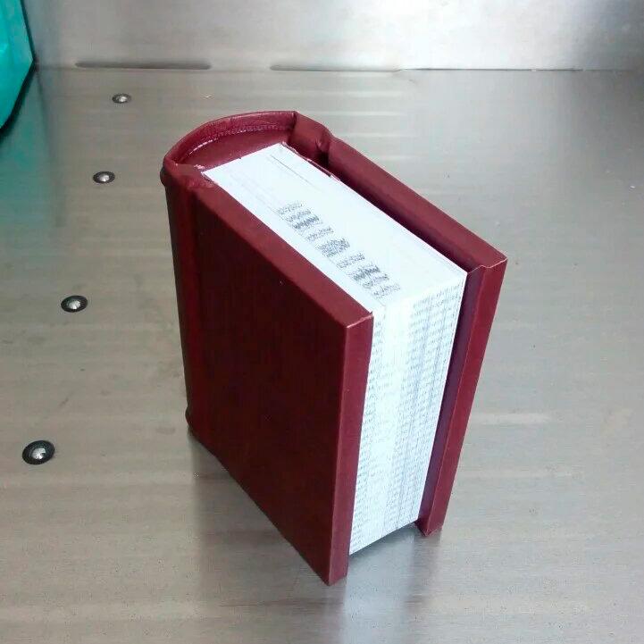 Переплет факсимиле книги в кожу. Издательство Сегмент. Фото